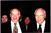 John Snyder and Vice President Cheney