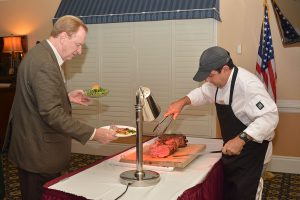 Prime Rib at anniversary event